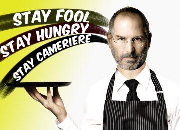 Il cameriere affamato