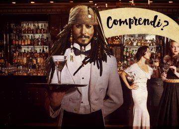 Storie di camerieri, storie di pirati.