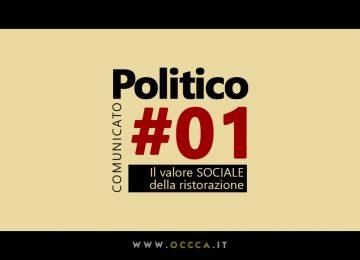Comunicato Politico #01 – Il WELFARE della Ristorazione