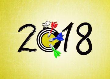 3 OBIETTIVI per il 2018