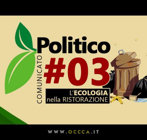 Comunicato Politico #03 – La RACCOLTA DIFFERENZIATA