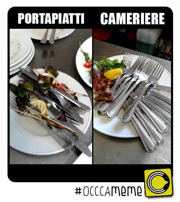 Come Portare I Piatti Cameriere.Non Dovete Passare I Piatti Al Cameriere Occca It
