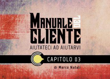Manuale del Cliente – L'ORDINAZIONE (Prima Parte)