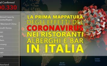 La prima mappatura degli effetti del Coronavirus nel mondo della ristorazione